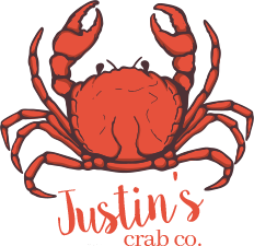 Justin's Crab Co. Logo